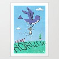 New Horizon Art Print