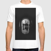 Mirror Mens Fitted Tee White SMALL