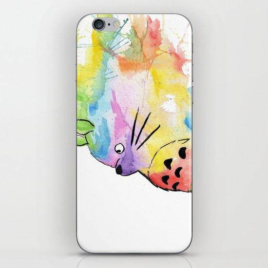 My Rainbow Totoro iPhone & iPod Skin