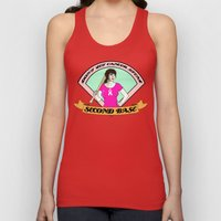 Don´t let cancer steal second base Unisex Tank Top