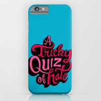 iPhone & iPod Case featuring Quiz of Hate by Chris Piascik