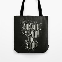 Imagine Accepting The Tr… Tote Bag