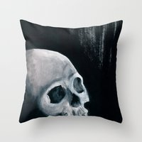 Bones XVI Throw Pillow