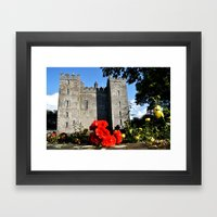 Bunratty Roses Framed Art Print