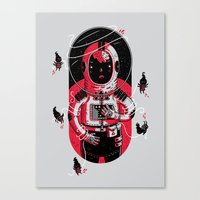 Gulliver's Space Travels Canvas Print