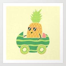 Summer Drive Art Print