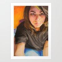 Morning Portrait (Pika) Art Print