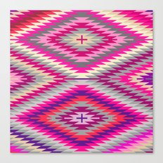 kilimi purple Canvas Print