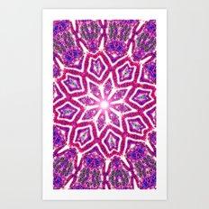 Cosmic Lotus Art Print