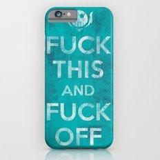 Public Service Announcement Slim Case iPhone 6s