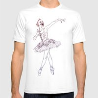 Sugar Plum Fairy Mens Fitted Tee White SMALL