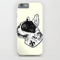French Bulldog Tattooed Dog iPhone 6 Slim Case