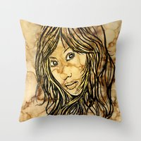 Coffee Dreams  Throw Pillow