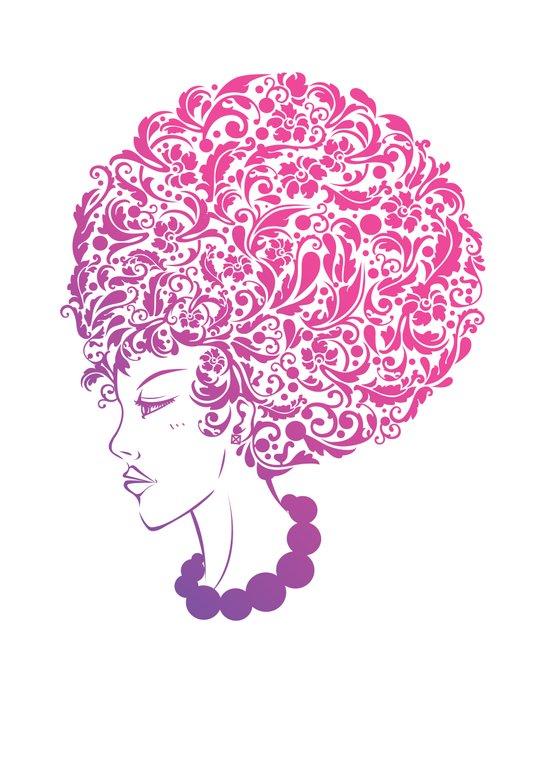 Ms. Floral Canvas Print