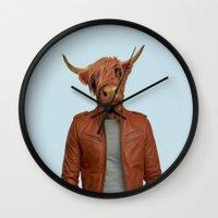 Mr. Miles Wall Clock