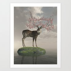 The Guardian of Spring Art Print