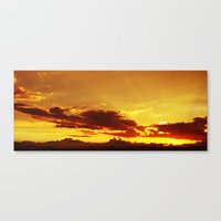 Ray Of Light Canvas Print