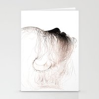 The Head Of Love Stationery Cards