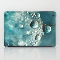 Midnight Blue Dandy Rain iPad Case