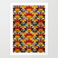 Kaleidoscopy Art Print