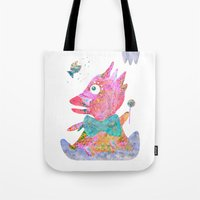 Fish's Whisper  Tote Bag