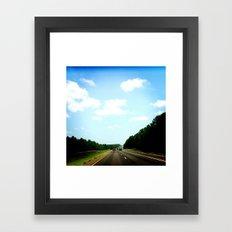 Country Texas Framed Art Print