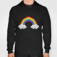 Pixel Rainbow Hoody