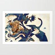 A Distant Dream - Kaukai… Art Print