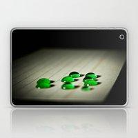 Emerald Rain Laptop & iPad Skin