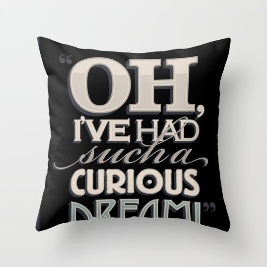 Curious Dream Throw Pillow