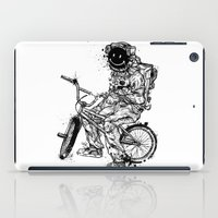 Void In Space (Blk) iPad Case