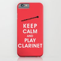 Keep Calm And Play Clari… iPhone 6 Slim Case