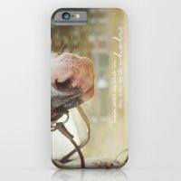 horses make me whole iPhone 6 Slim Case