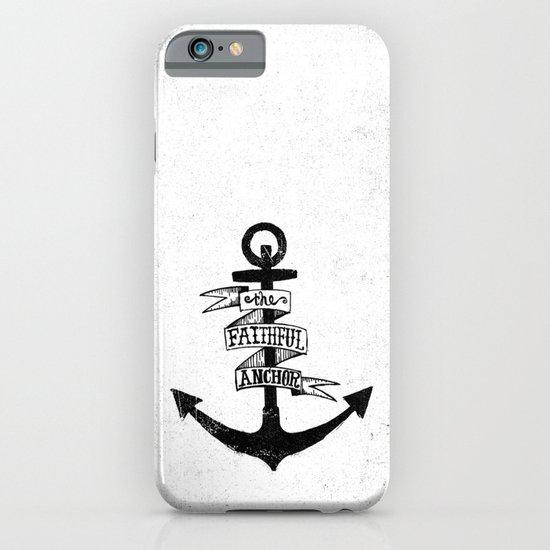 The Faithful Anchor iPhone & iPod Case
