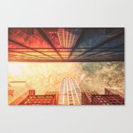New York City Chrysler B… Canvas Print