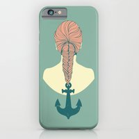 iPhone & iPod Case featuring Fish and Anchor by Venetta