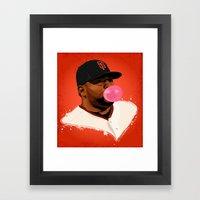 The Panda Framed Art Print