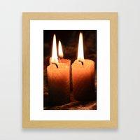Light Your Way Framed Art Print