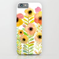Peony field iPhone 6 Slim Case