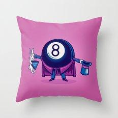 The Magic Eight Ball Throw Pillow