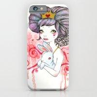 Princess with bunny iPhone 6 Slim Case