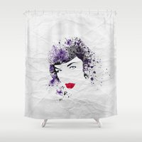 Queen Of Pin-Up Shower Curtain