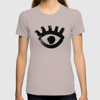 Eye Womens Fitted Tee Cinder SMALL