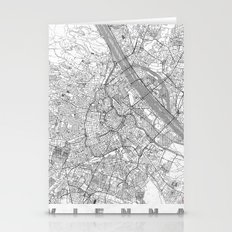Vienna Map Line Stationery Cards