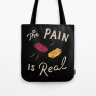Real Pain Tote Bag