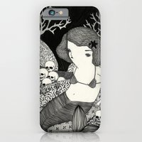iPhone & iPod Case featuring Bitter Mermaid by Mai Ly Degnan