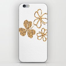 PAPERCUT FLOWER 4 iPhone & iPod Skin