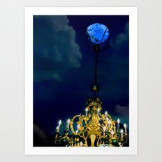 At The Stroke of Midnight Art Print