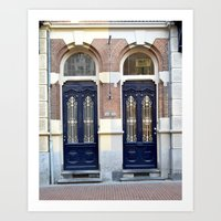Two doors Art Print