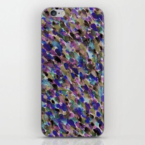 Purple and Olive iPhone & iPod Skin